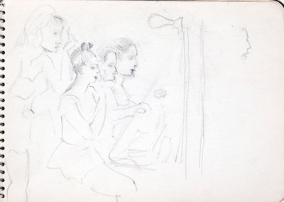 Hortense Gordon, Sketchbook, page 20 of 32
