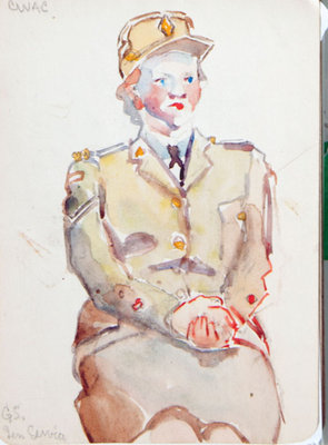 Hortense Gordon, Sketchbook, page 27 of 33