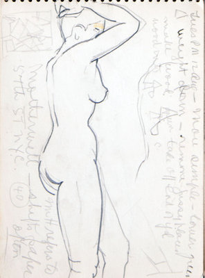 Hortense Gordon, Sketchbook, page 29 of 32