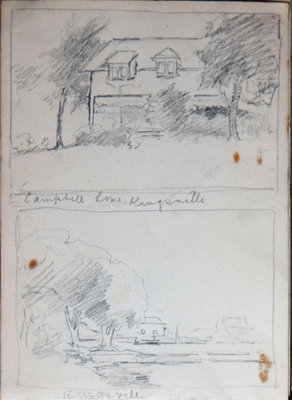 John Gordon, Sketchbook, page 9 of 52