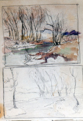 John Gordon, Sketchbook, page 38 of 52