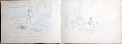 John Gordon, Sketchbook, page 50 of 52