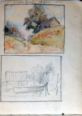 John Gordon, Sketchbook, page 2 of 18