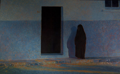 Algerian Woman, Back Door