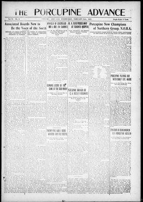 Porcupine Advance, 23 Feb 1921