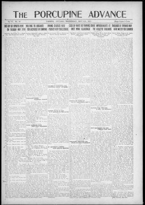 Porcupine Advance, 11 May 1921