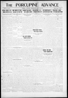 Porcupine Advance, 26 Apr 1922