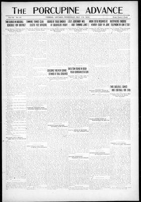 Porcupine Advance, 17 May 1922