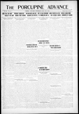 Porcupine Advance, 24 May 1922