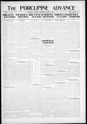Porcupine Advance, 21 Jun 1922
