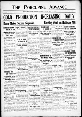 Porcupine Advance, 10 May 1912