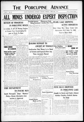 Porcupine Advance, 28 Jun 1912