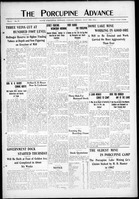 Porcupine Advance, 19 Jul 1912