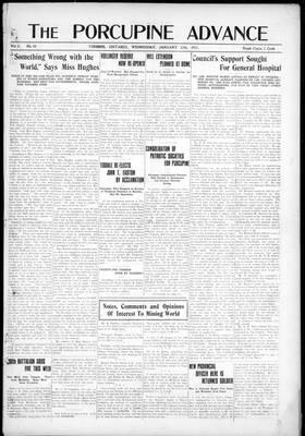 Porcupine Advance, 17 Jan 1917