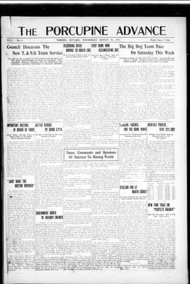 Porcupine Advance, 7 Mar 1917