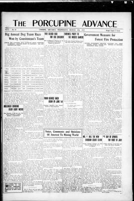 Porcupine Advance, 14 Mar 1917