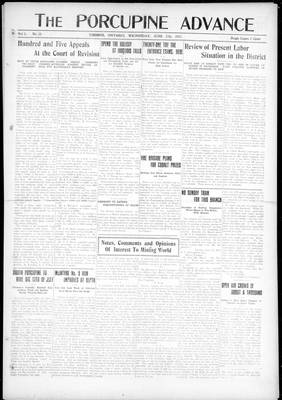 Porcupine Advance, 27 Jun 1917