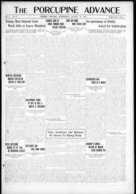 Porcupine Advance, 1 Aug 1917