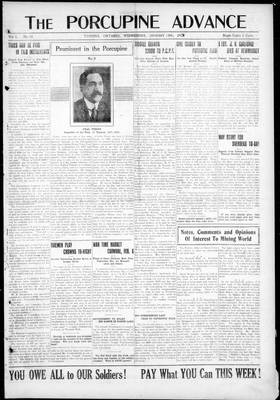 Porcupine Advance, 30 Jan 1918