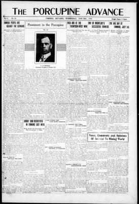 Porcupine Advance, 26 Jun 1918
