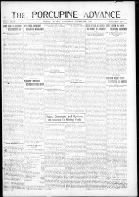 Porcupine Advance, 16 Oct 1918