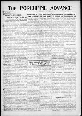 Porcupine Advance, 19 Mar 1919