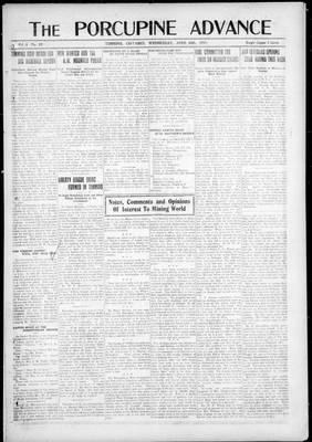 Porcupine Advance, 16 Apr 1919