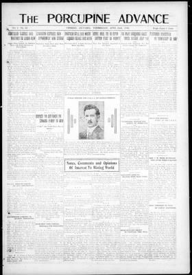 Porcupine Advance, 23 Apr 1919