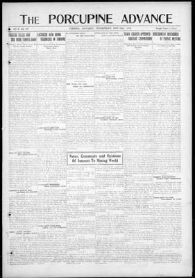 Porcupine Advance, 28 May 1919