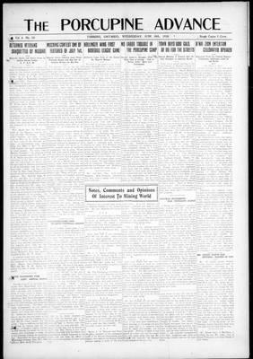 Porcupine Advance, 18 Jun 1919