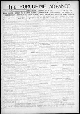 Porcupine Advance, 5 May 1920