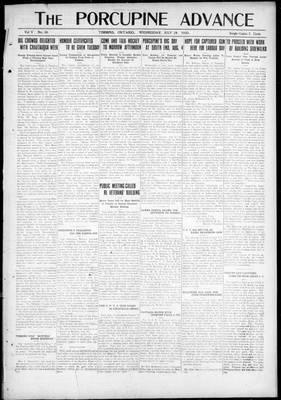 Porcupine Advance, 28 Jul 1920