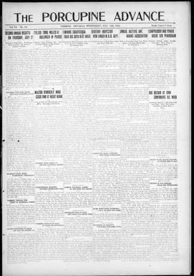 Porcupine Advance, 12 Jul 1922
