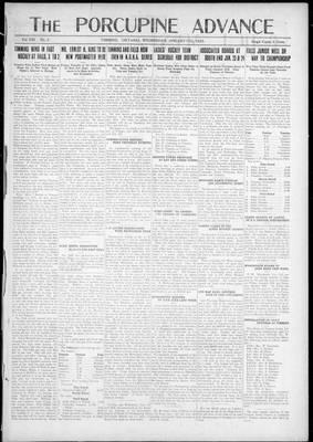 Porcupine Advance, 17 Jan 1923