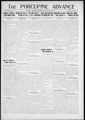 Porcupine Advance, 21 Feb 1923