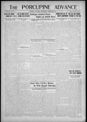 Porcupine Advance, 7 Mar 1923