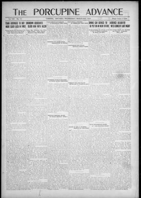 Porcupine Advance, 28 Mar 1923