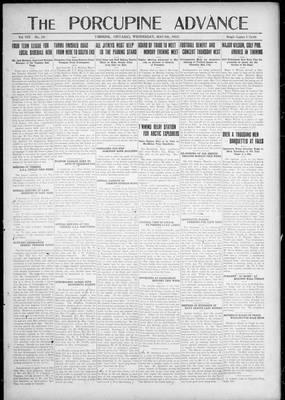 Porcupine Advance, 9 May 1923