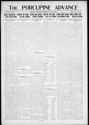 Porcupine Advance, 30 May 1923