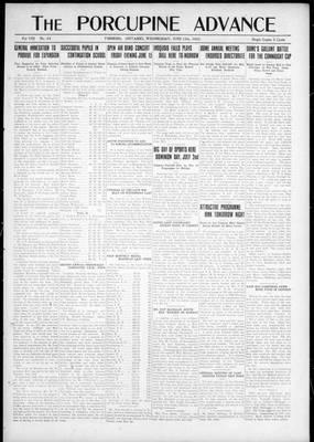 Porcupine Advance, 13 Jun 1923