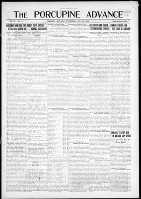 Porcupine Advance, 4 Jul 1923