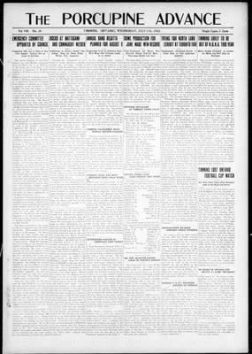 Porcupine Advance, 11 Jul 1923