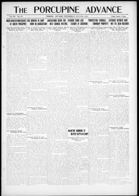 Porcupine Advance, 25 Jul 1923