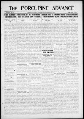 Porcupine Advance, 26 Sep 1923