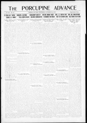 Porcupine Advance, 31 Oct 1923