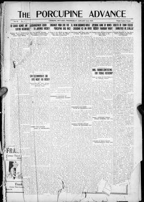 Porcupine Advance, 2 Jan 1924