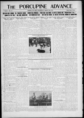 Porcupine Advance, 26 Mar 1924