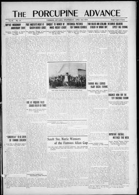 Porcupine Advance, 2 Apr 1924