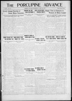 Porcupine Advance, 9 Apr 1924