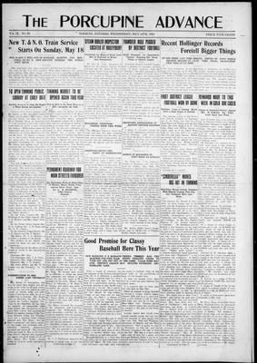 Porcupine Advance, 14 May 1924